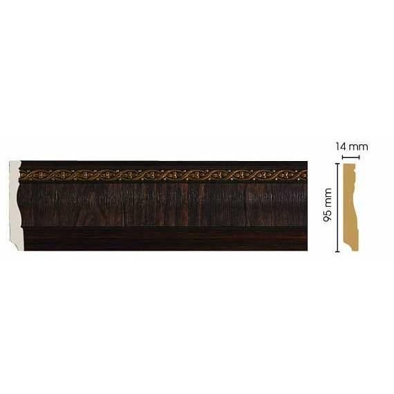 Цветной плинтус Decomaster 153-1